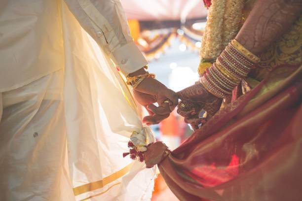 hindu wedding - hinduism stock photos and pictures
