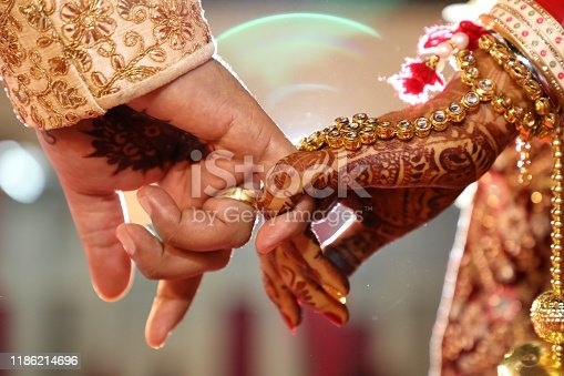 Ring Ceremony , a Hindu wedding ritual wherein bride and groom hand over their rings to each others as symbol of love