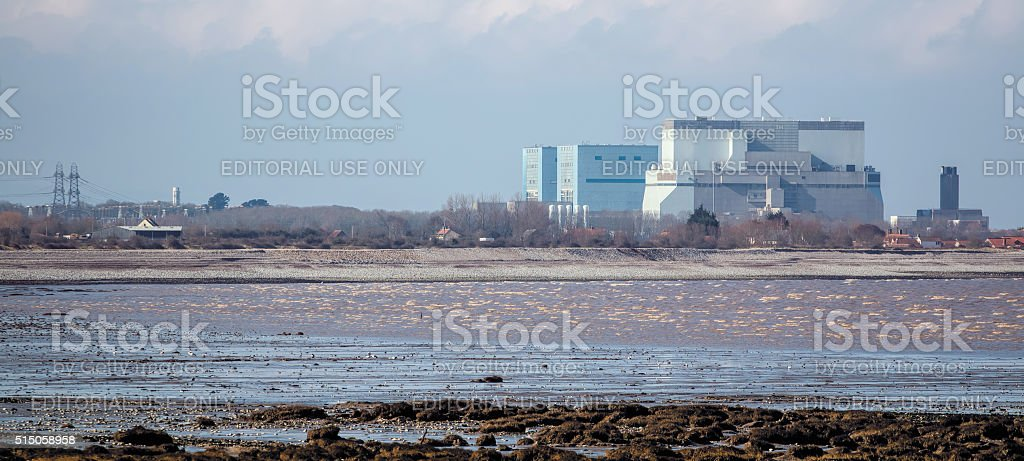 Hinkley Point Nuclear Power Station Somerset, UK stock photo