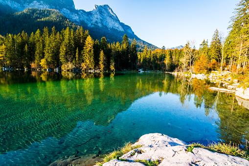 Hintersee im Nationalpark Berchtesgaden