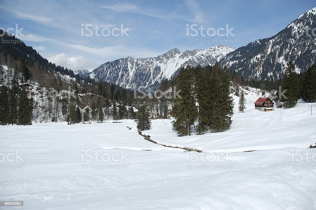 Hinterstein Valley 2 royalty-free stock photo