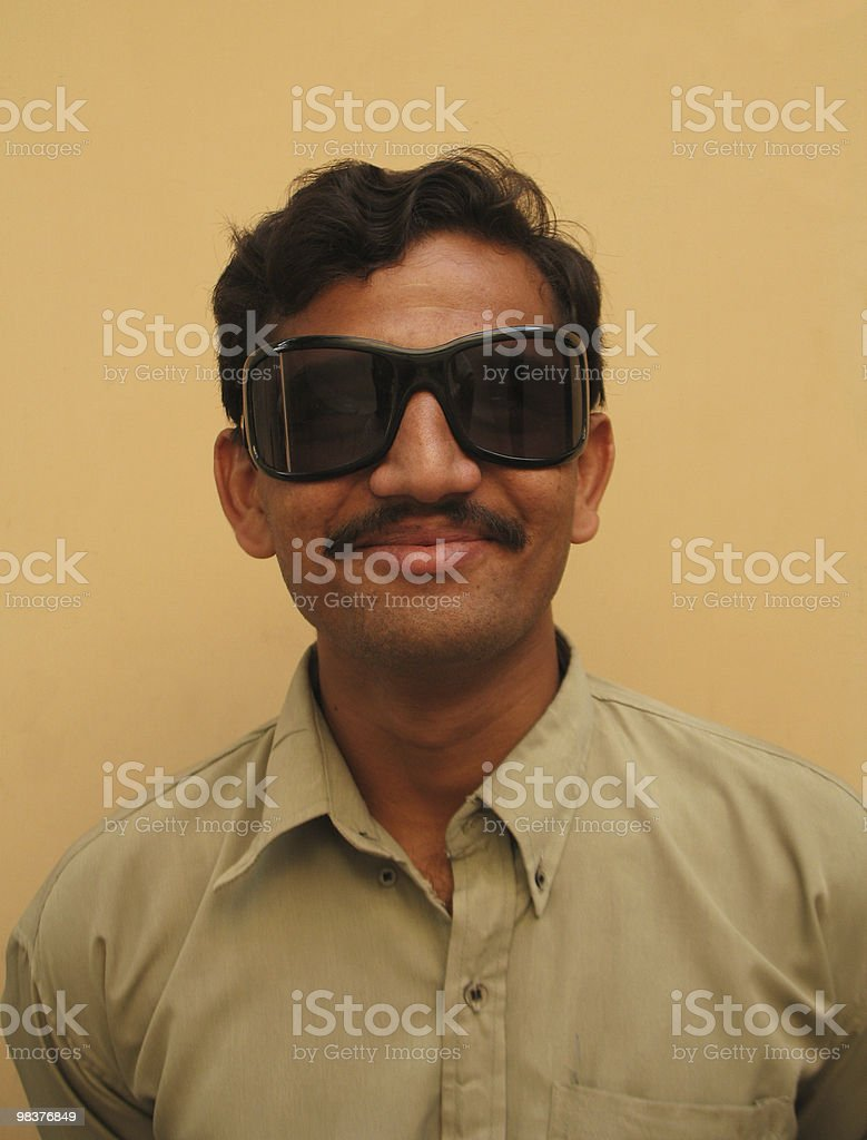 Hip Asian man royalty-free stock photo