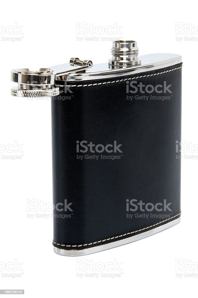 Hip Flask stock photo