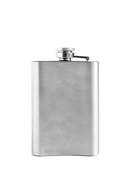 hip flask - flask stock photos and pictures