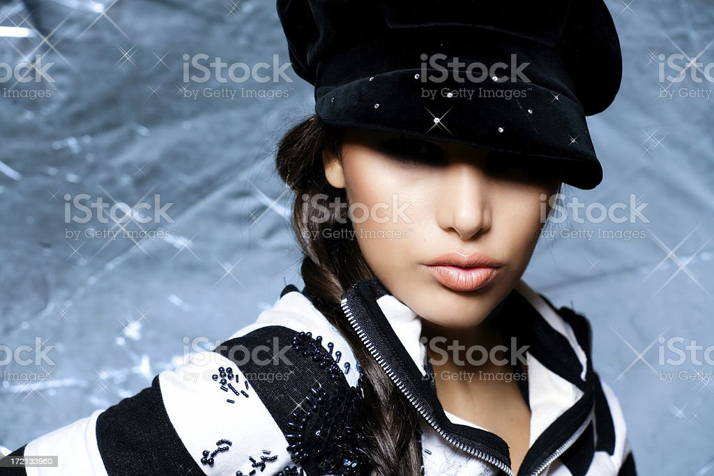 Hip Girl royalty-free stock photo