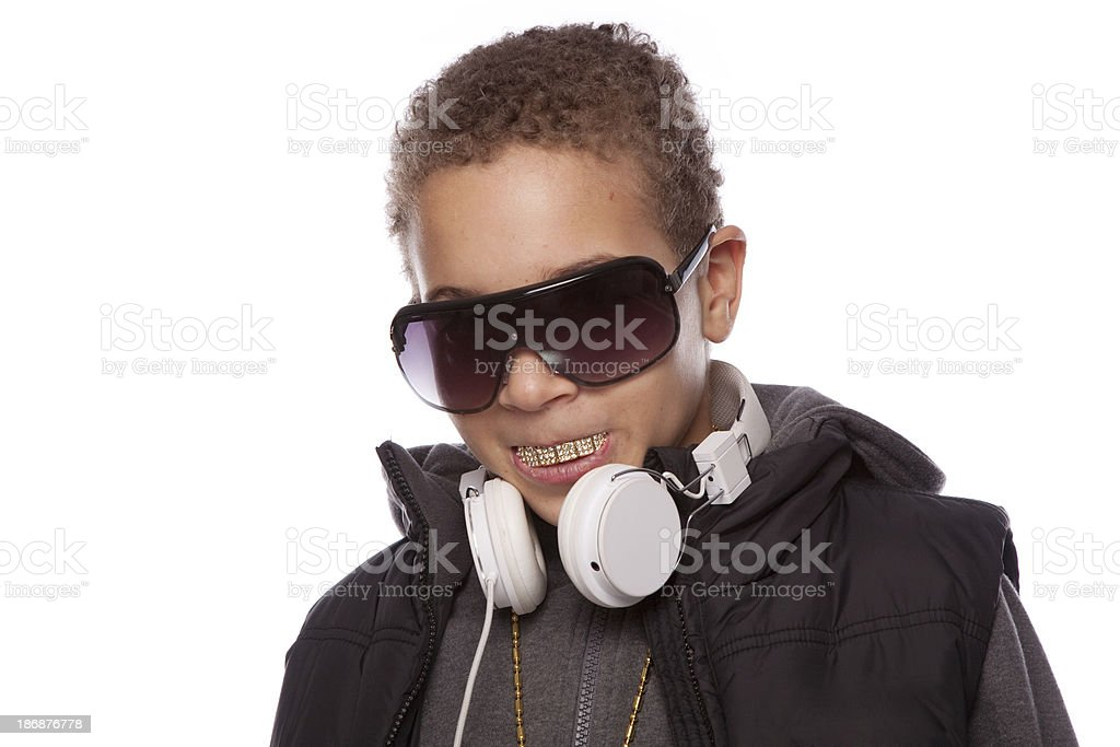 Hip hop boy stock photo