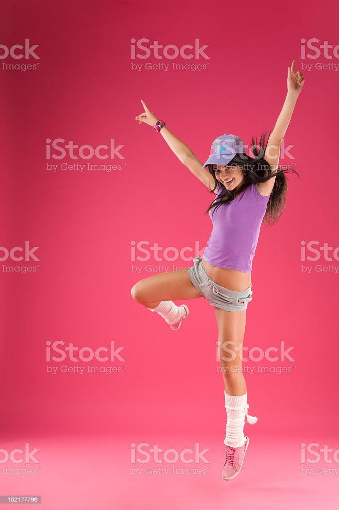 Hip hop dancer royalty-free stock photo