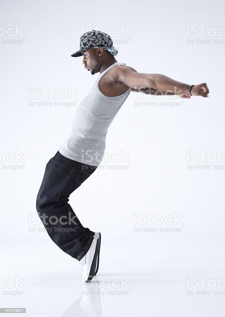 hip-hop-Tänzer auf den Zehen – Foto