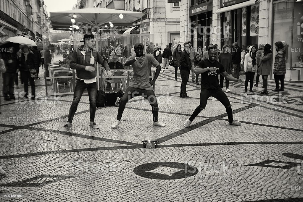 Hip Hop dancers in Lisbon – Foto