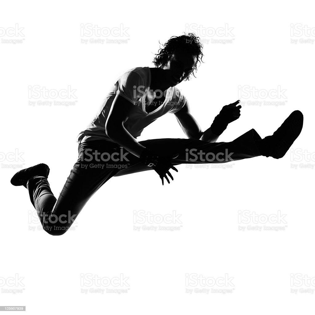 hip hop funk dancer dancing man stock photo