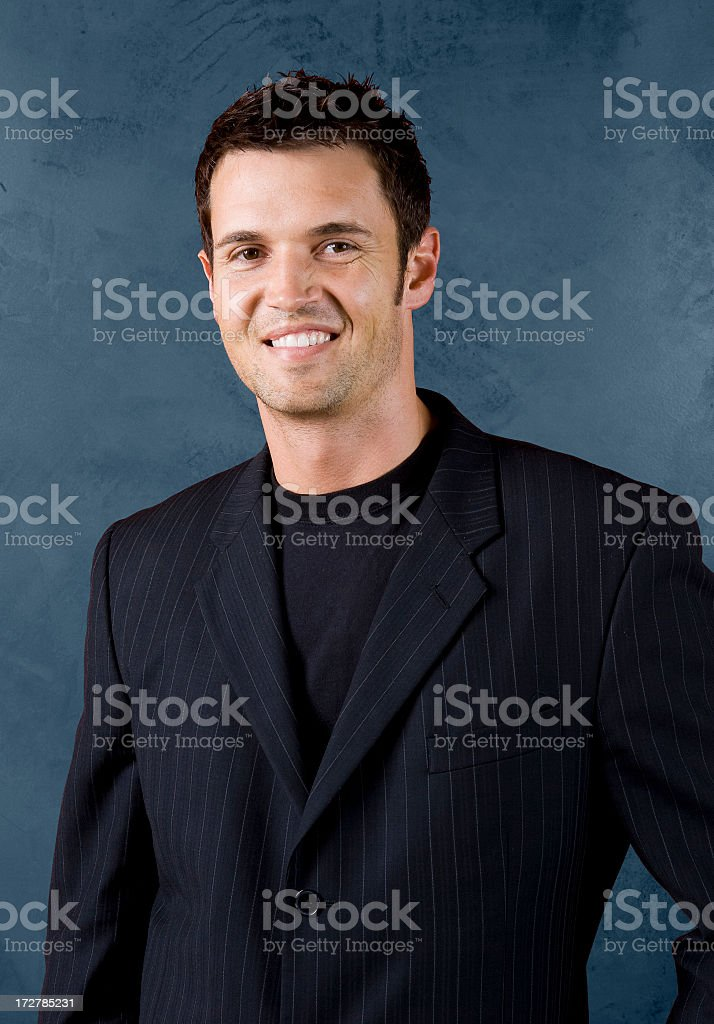 Hip Young Businessman Portrait stock photo