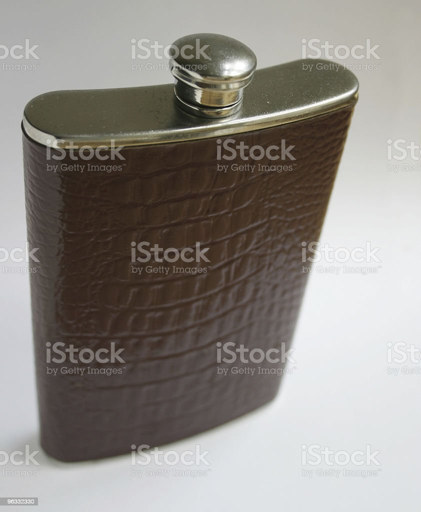 Hipflask 1 royalty-free stock photo