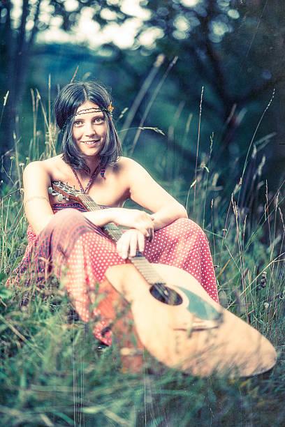Hippie-Mädchen – Foto