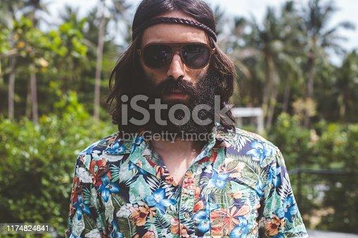 Hippie Man portrait