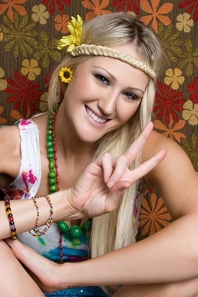 hippie - hippie kostüm damen stock-fotos und bilder