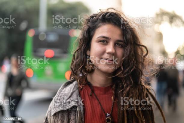 Hippie young woman portrait in the city picture id1009581216?b=1&k=6&m=1009581216&s=612x612&h=bn7nlm95gnorgphgqgbt2zdhgb3gl3dptvrjayfc87e=