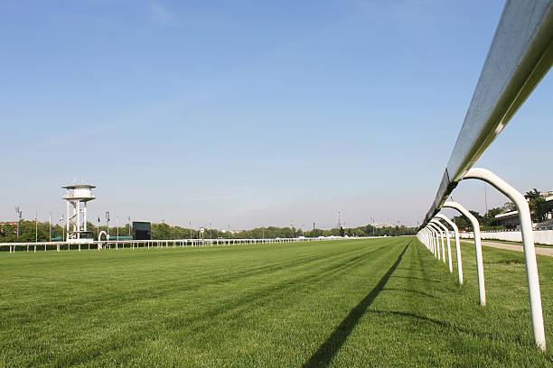 Hippodrome racetrack stock photo