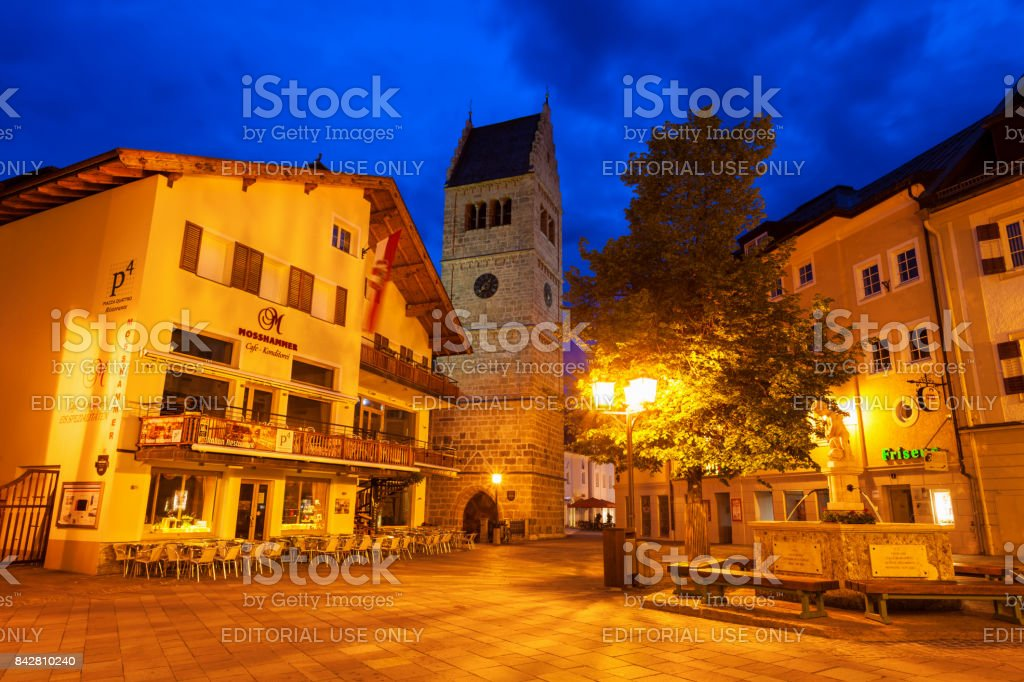 Hippolytes Church, Zell See stock photo