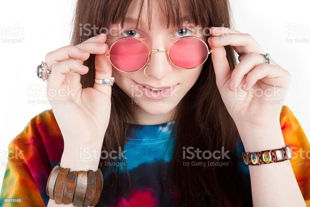 Hippy Dippy royalty-free stock photo