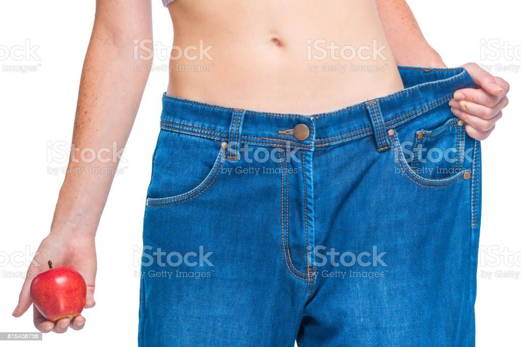 Huften Und Bauch Schlanke Girls Nach Diaten Das Ergebnis Der