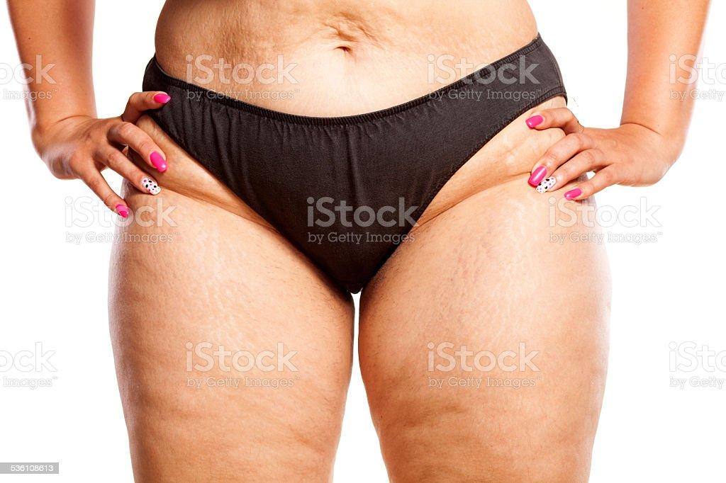 Ляжки женские толстые