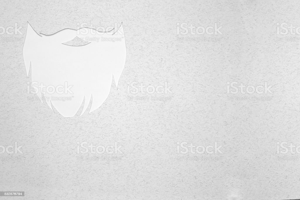 Hipster Beard Design Stock Photo - Download Image Now - iStock