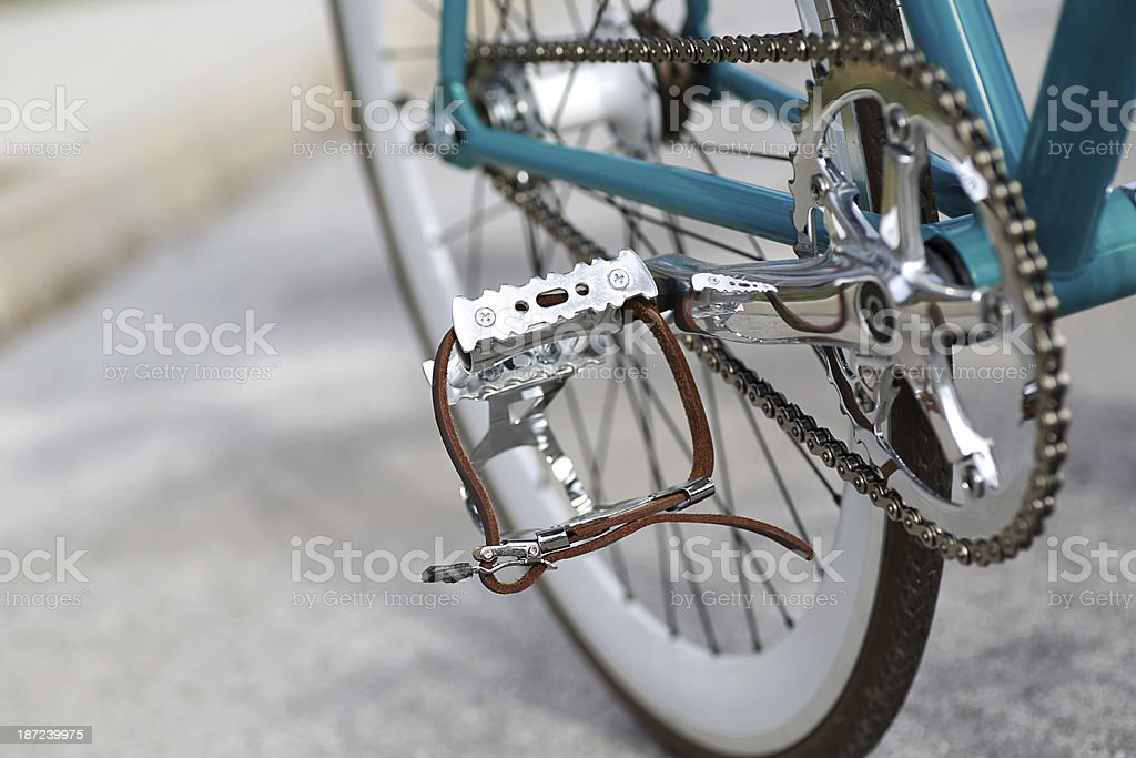 Hipster Bike Detail stock photo
