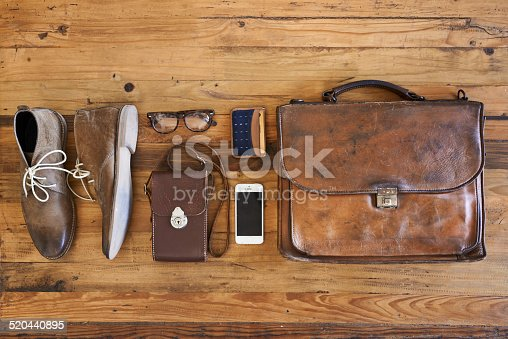 A kit for a hipster businessman