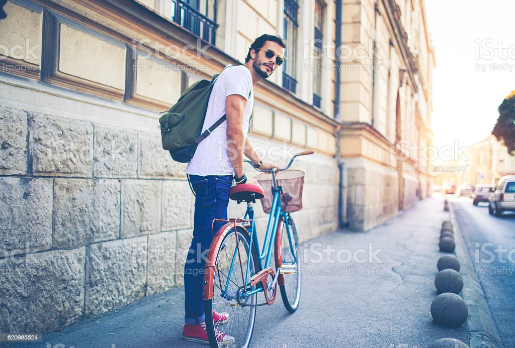 Hipster city foto royalty-free