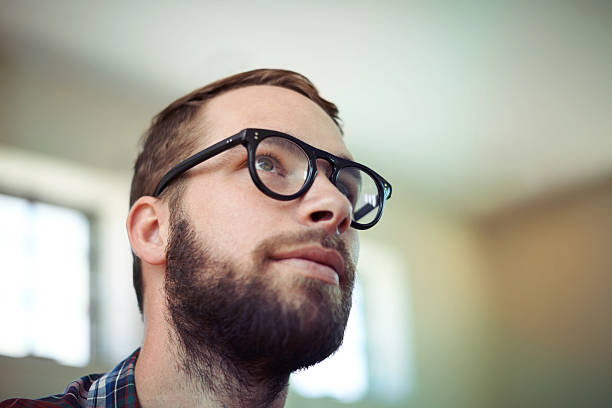 Hipster cool stock photo