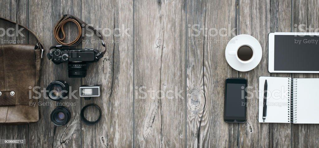 independiente del inconformista fotógrafo - foto de stock