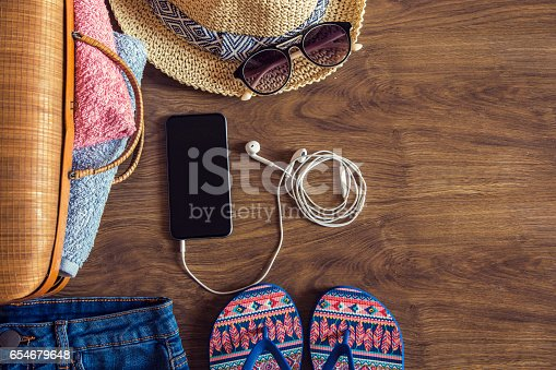 654680306istockphoto Hipster girl clothes 654679648