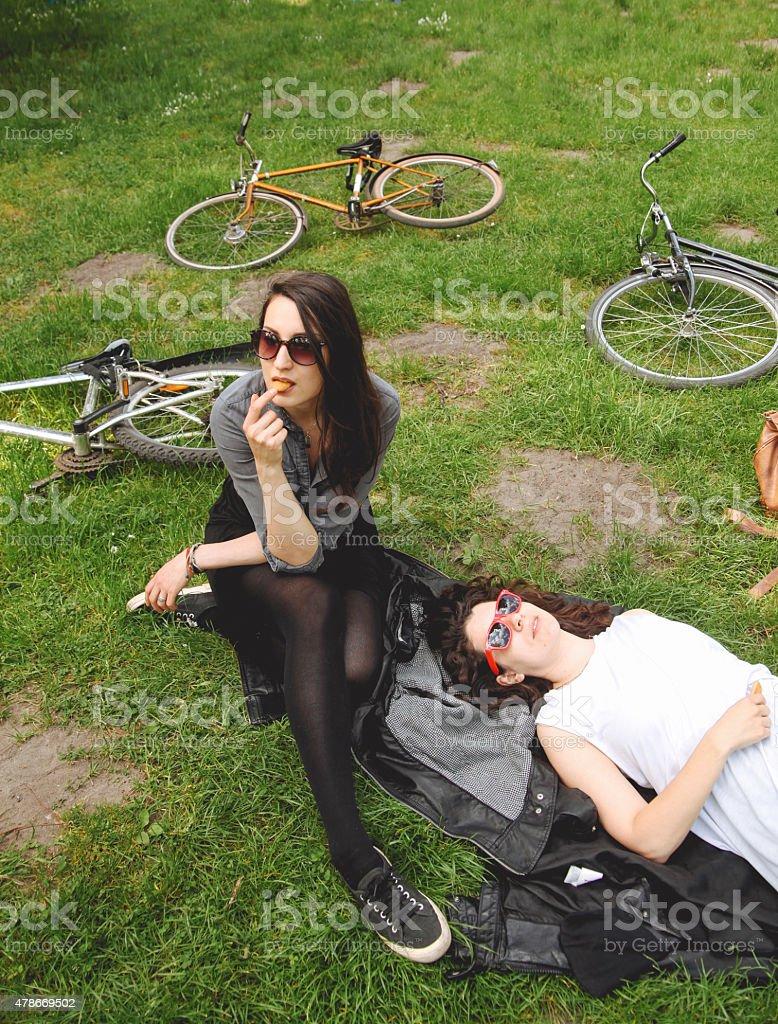 hipster Mädchen – Foto