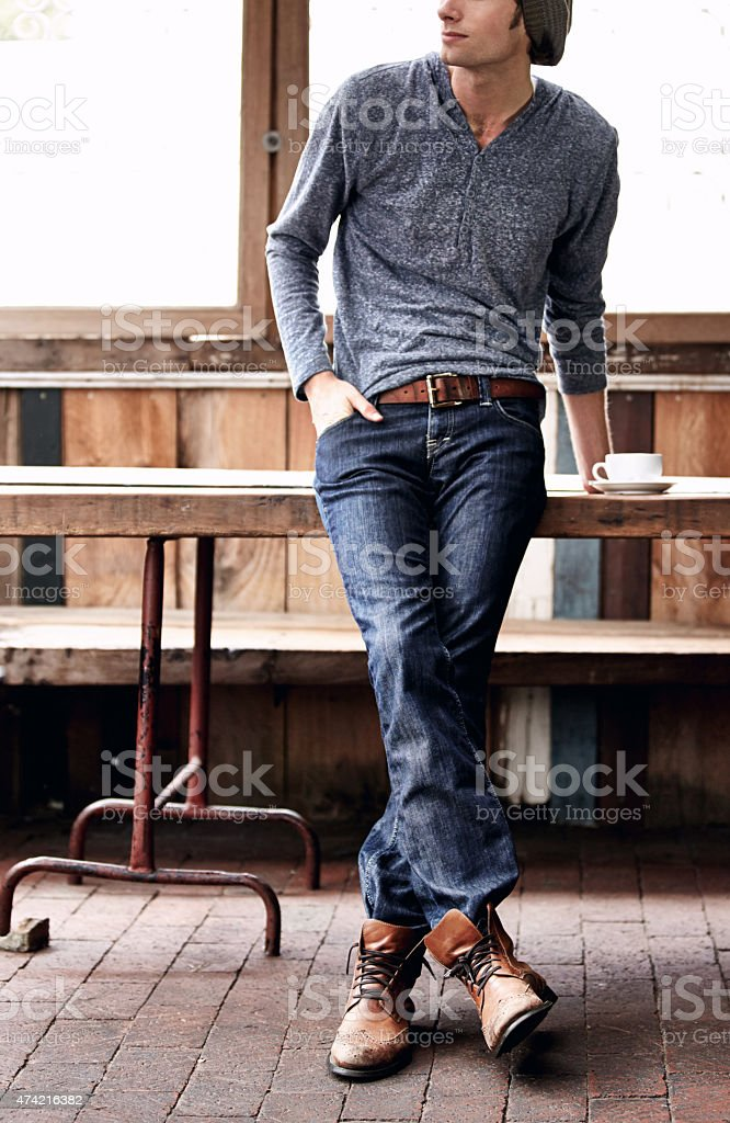 Hipster lifestyle stock photo
