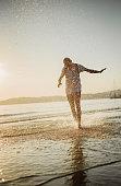 istock Hipster man enjoying the sunset 1058446362