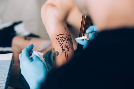Tattoo pizza Tattoo Lifetime