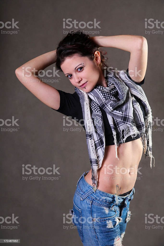Hipster royalty-free stock photo