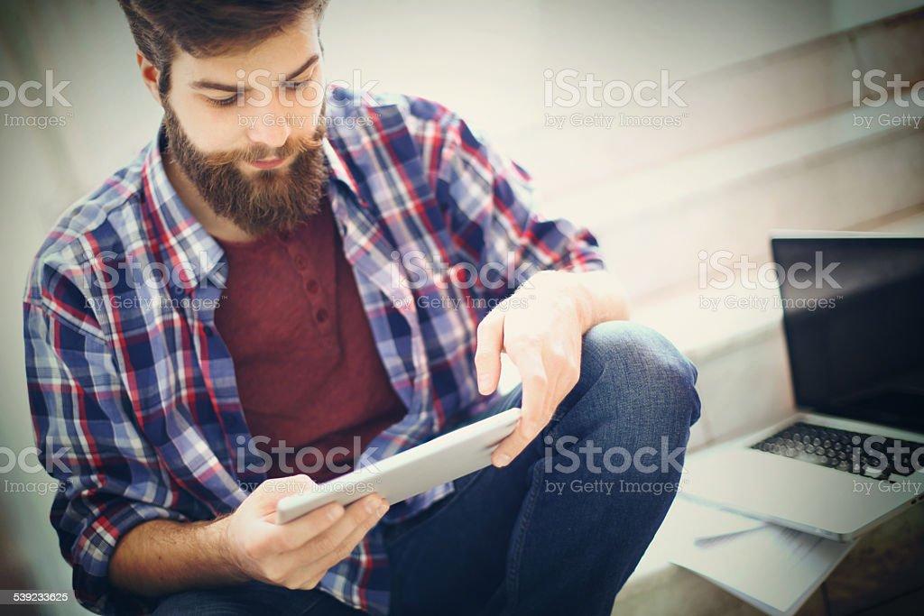 Hipster estudiantes. foto de stock libre de derechos