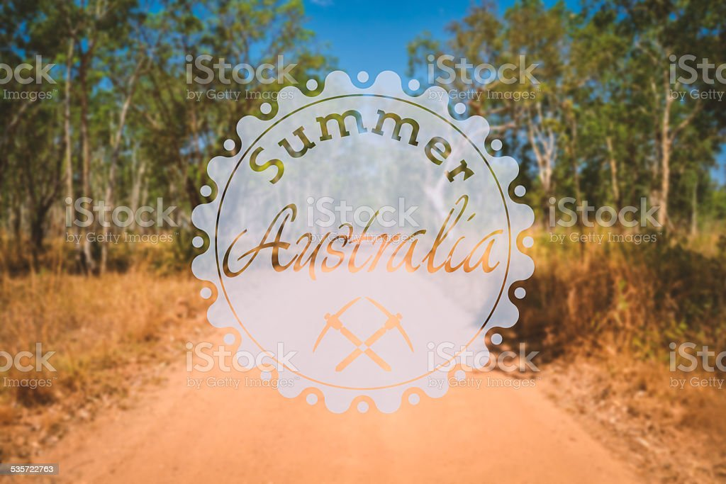 hipster summer australia stock photo