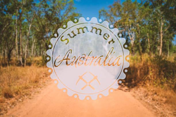 hipster summer australia stock photo