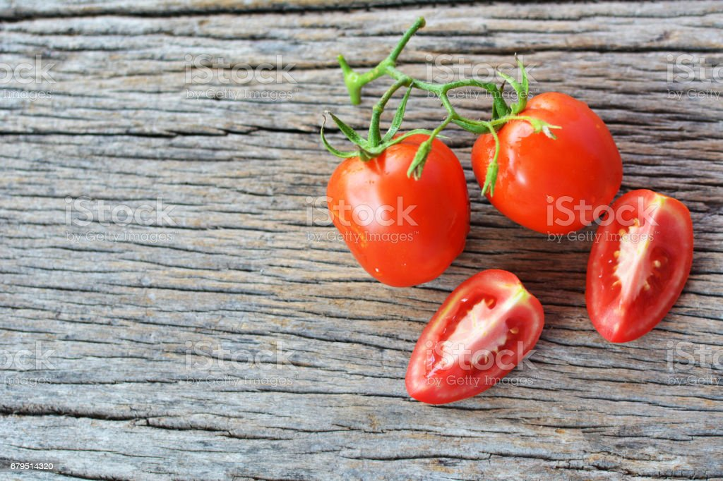 Hipster tone Top view group of tomato royalty-free stock photo