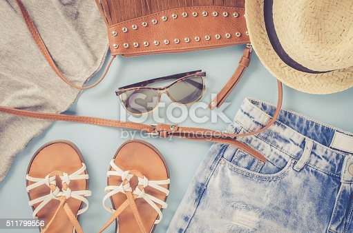 istock Hipster woman clothes 511799556