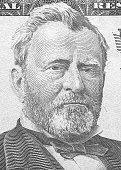 istock Hiram Ulysses Grant portrait from us 50 dollars. 887577498