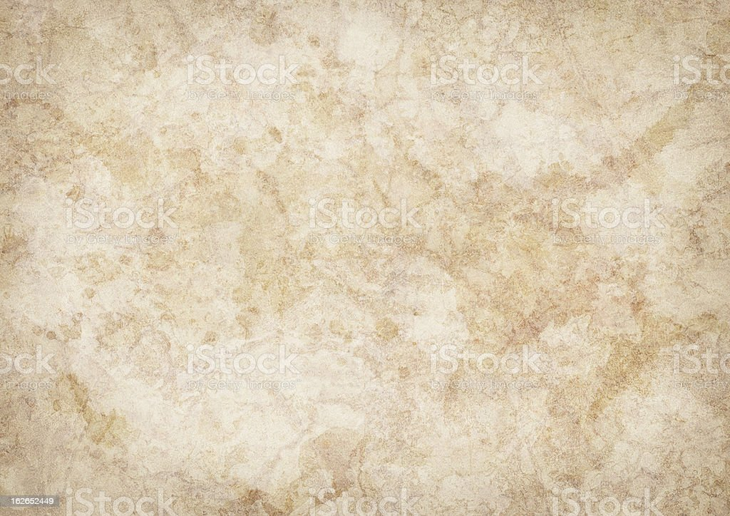 Hi-Res Antique Animal Skin Parchment Mottled Blotted Vignette Grunge Texture royalty-free stock photo