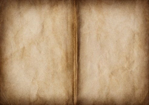This Hi-Res scan of Antique Opened Book Blank Crumpled Pages, Stained, Vignette Grunge Texture, is excellent choice for implementation within creative processes of various CG Projects.