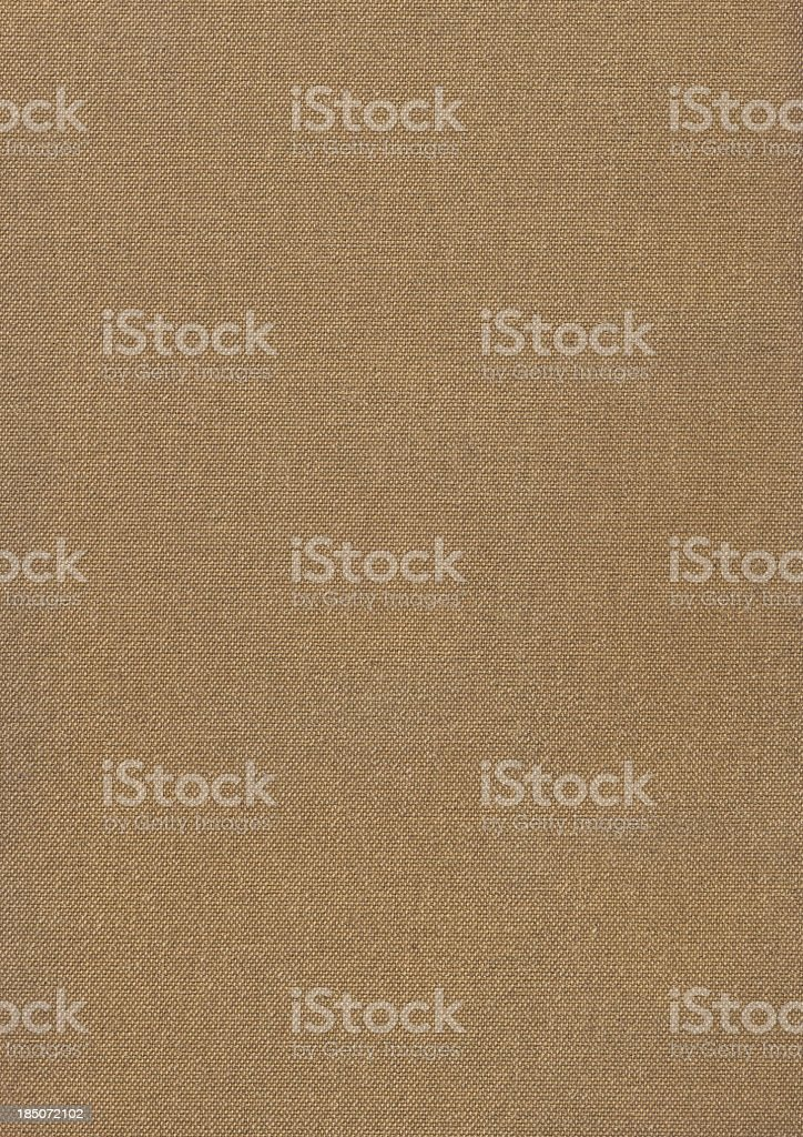 Hi-Res Artist's Primed Cotton Duck Canvas Reverse Side Grunge Texture royalty-free stock photo