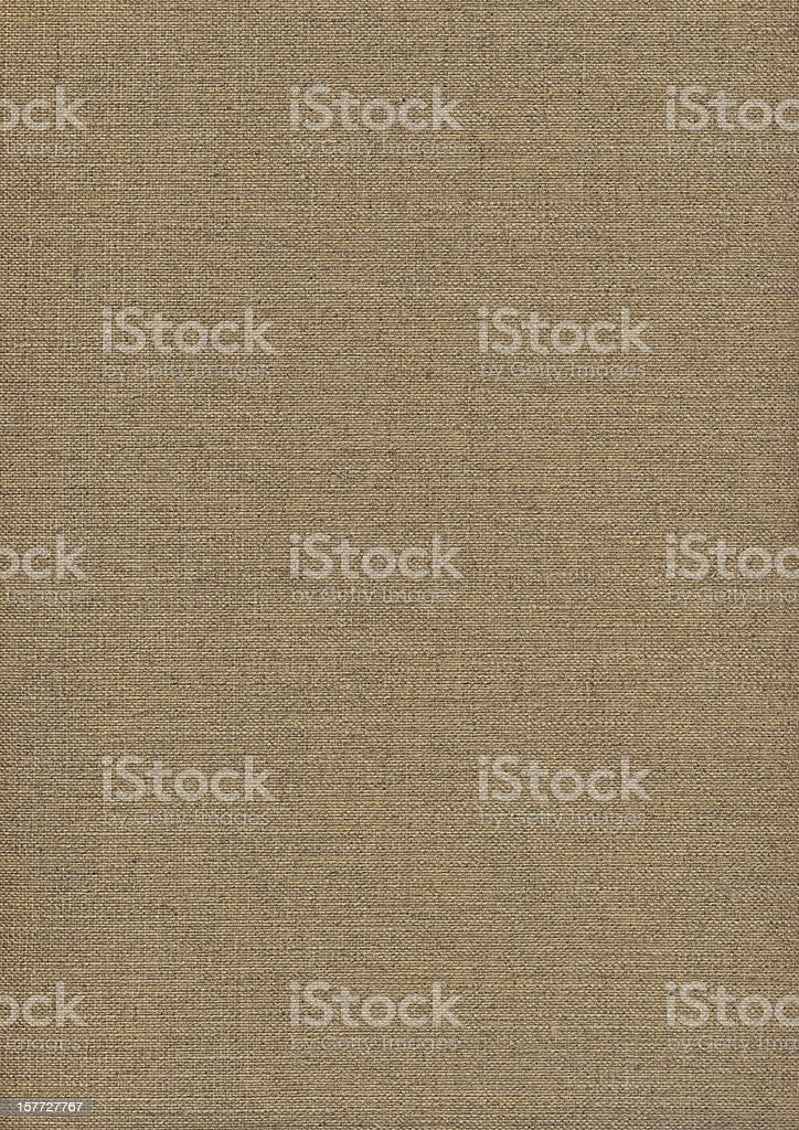 Hi-Res Artist's Primed Linen Duck Canvas Reverse Side Grunge Texture royalty-free stock photo