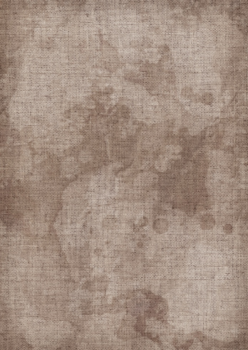 This Hi-Res Scan of Unprimed Artist's Linen Duck Canvas, Mottled, Blotted, Dappled Vignette Grunge Texture, is excellent choice for implementation in various CG design projects.