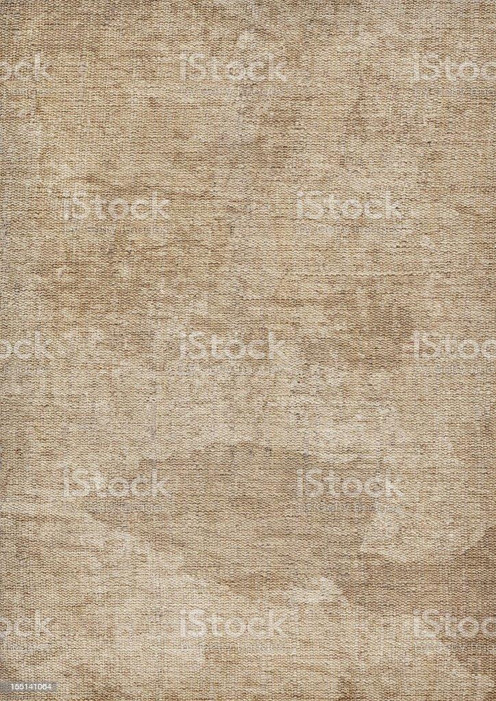 Hi-Res Artist's Unprimed Linen Duck Canvas Mottled Grunge Texture royalty-free stock photo