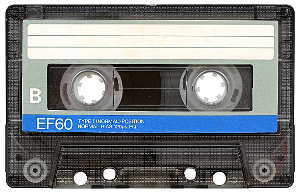 Hi-res Audio Cassette with clipping path on white background Audio Cassette isolated vith clipping path. High resolution and lot of details. audio cassette stock pictures, royalty-free photos & images